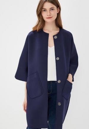 Пальто Magwear. Цвет: синий