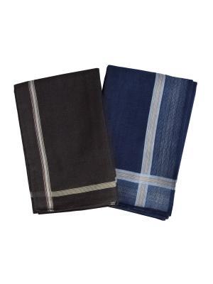 Платки носовые ZLATA KORUNKA. Цвет: серый