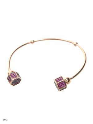 Браслет FRESH Jewelry. Цвет: серебристый