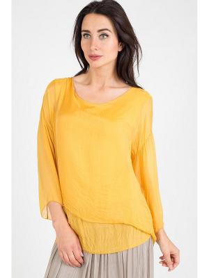 Блуза Amado Barcelona. Цвет: желтый