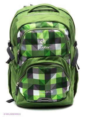 Рюкзак Deuter. Цвет: зеленый