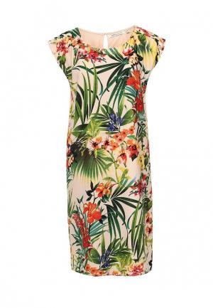Платье Emoi. Цвет: бежевый
