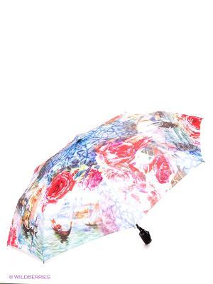 Зонт RAINDROPS. Цвет: белый, красный