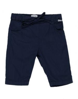 Повседневные брюки IL GUFO. Цвет: темно-синий