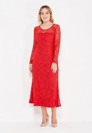 Платье Lina. Цвет: красный