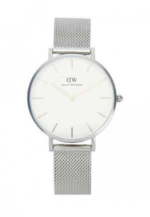 Часы Daniel Wellington. Цвет: серебряный