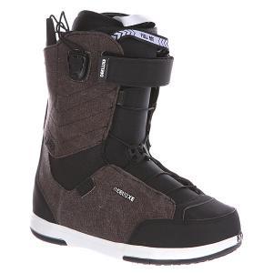 Ботинки для сноуборда женские  Ray Lara Cf Denim Deeluxe. Цвет: черный,коричневый