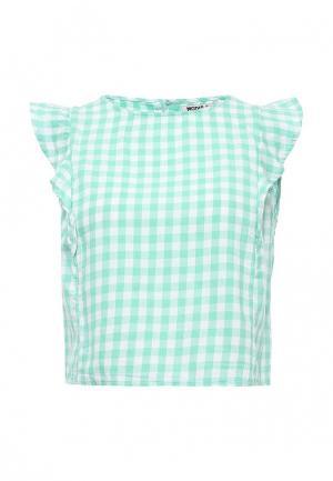 Блуза Modis. Цвет: бирюзовый