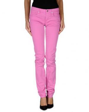 Повседневные брюки FIORUCCI. Цвет: светло-фиолетовый