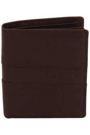 Кошелек F|23. Цвет: dark brown