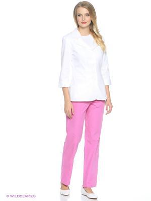 Брюки медицинские Med Fashion Lab. Цвет: розовый