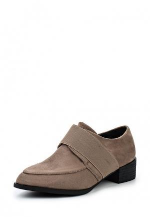 Ботинки Donna Moda. Цвет: бежевый