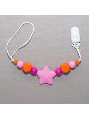 Игрушка-подвеска Краски лета. Цвет: малиновый, оранжевый, розовый