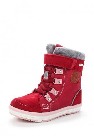 Ботинки Reima. Цвет: красный