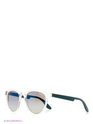 Солнцезащитные очки CARRERA. Цвет: прозрачный, зеленый