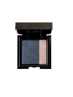 Запечённые двойные тени для сухого и влажного нанесения Noubatwin 34, 4гр NOUBA. Цвет: темно-синий, бледно-розовый