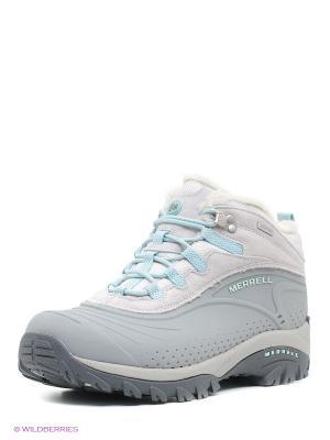 Ботинки MERRELL. Цвет: серый, бирюзовый