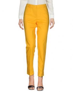 Повседневные брюки G.SEL. Цвет: охра