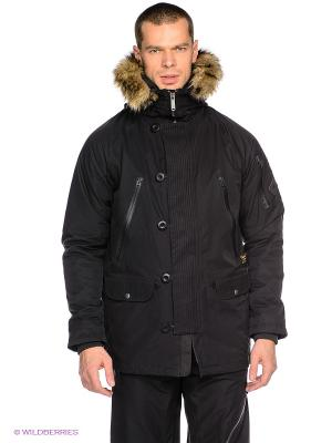 Куртка Burton. Цвет: черный