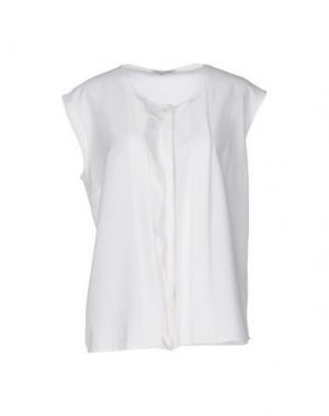 Pубашка HOPE COLLECTION. Цвет: белый