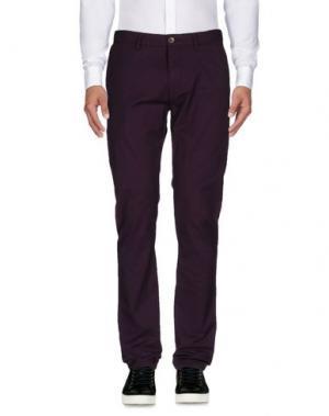 Повседневные брюки BEN SHERMAN. Цвет: розовато-лиловый