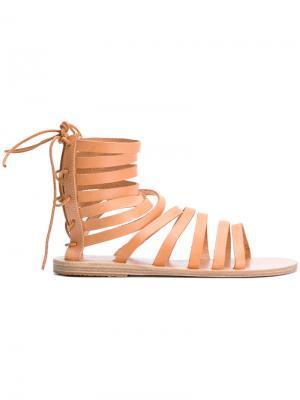 Сандалии Galatia Ancient Greek Sandals. Цвет: телесный