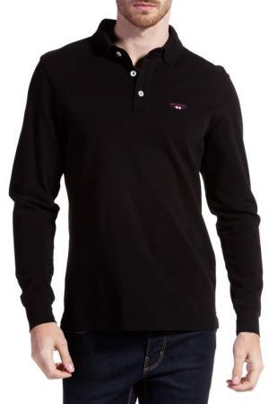 Рубашка-поло Galvanni. Цвет: black