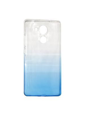 Крышка задняя для Huawei MATE 8 Силикон IQ Format. Цвет: синий