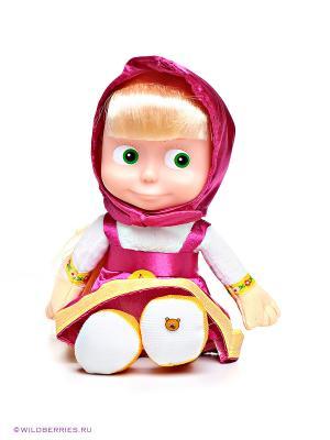 Мягкая игрушка Маша, 30 см. Мульти-пульти. Цвет: розовый, белый