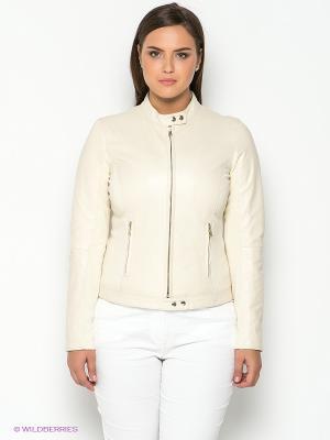 Куртка SISTE'S. Цвет: кремовый
