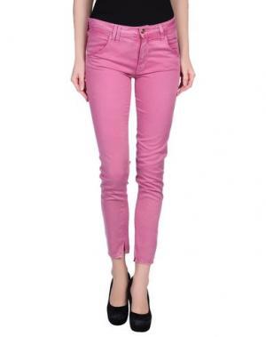 Повседневные брюки CYCLE. Цвет: светло-фиолетовый