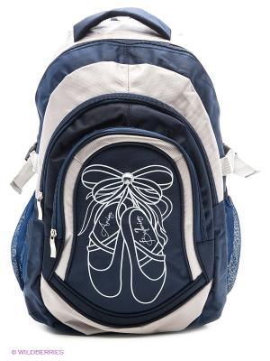 Рюкзак для девочек Arina Millionare. Цвет: синий