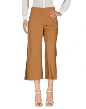 Повседневные брюки CENTOQUATTRO. Цвет: коричневый
