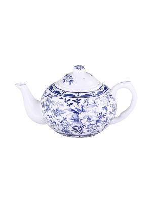 Чайник с металлическим фильтром 400 мл. PATRICIA. Цвет: синий