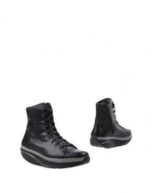 Полусапоги и высокие ботинки MBT. Цвет: черный