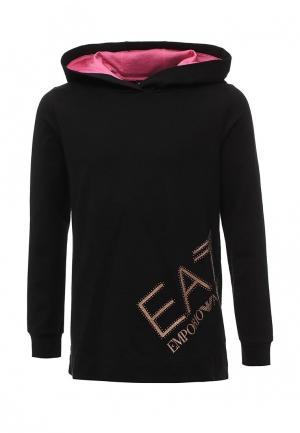 Худи EA7. Цвет: черный