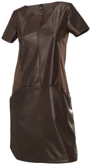 Платье Otto. Цвет: бежевый