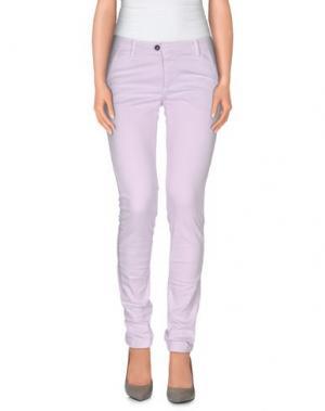 Повседневные брюки DW⁵. Цвет: сиреневый