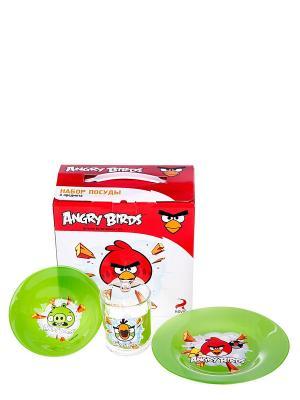 Набор Энгри Бердз - Зеленый ANGRY BIRDS. Цвет: зеленый