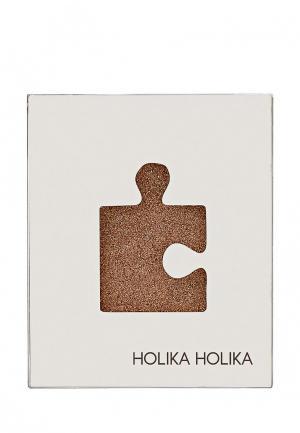 Тени Holika. Цвет: коричневый
