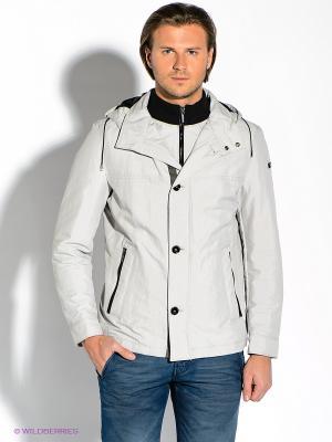 Куртка Strellson. Цвет: светло-серый