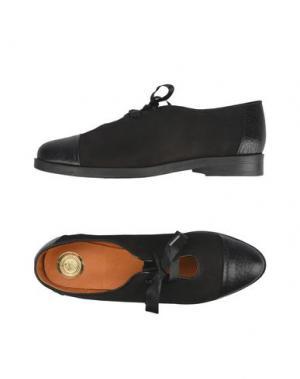 Обувь на шнурках MAISON SHOESHIBAR. Цвет: черный