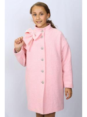 Пальто DESTY. Цвет: розовый