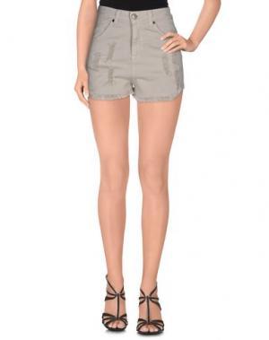 Повседневные шорты ANIYE BY. Цвет: серый