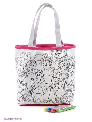 Набор для раскрашивания сумки Принцессы Фабрика Фантазий. Цвет: белый