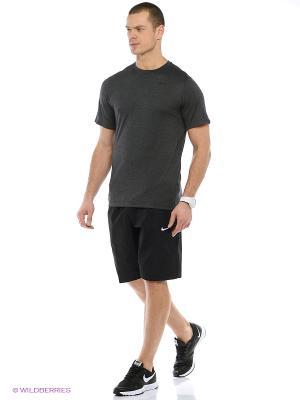 Футболка DRI-FIT TRAINING SS Nike. Цвет: черный