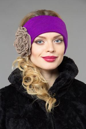 Повязка LakMiss. Цвет: пурпурный, бежевый