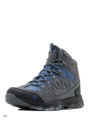 Ботинки MTN ATTACK 5 TEXAPORE MID M Jack Wolfskin. Цвет: синий