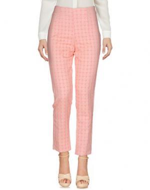 Повседневные брюки BLANCA LUZ. Цвет: розовый