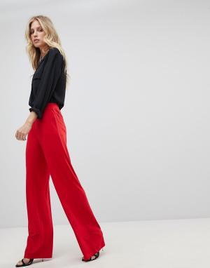 Ivyrevel Широкие трикотажные брюки. Цвет: красный